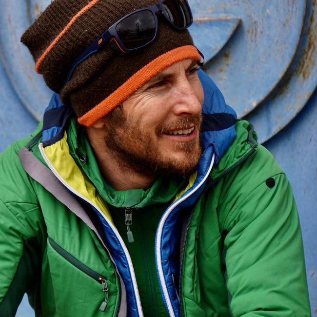 Ein Foto des Bergführers Dominik Bartenschlager
