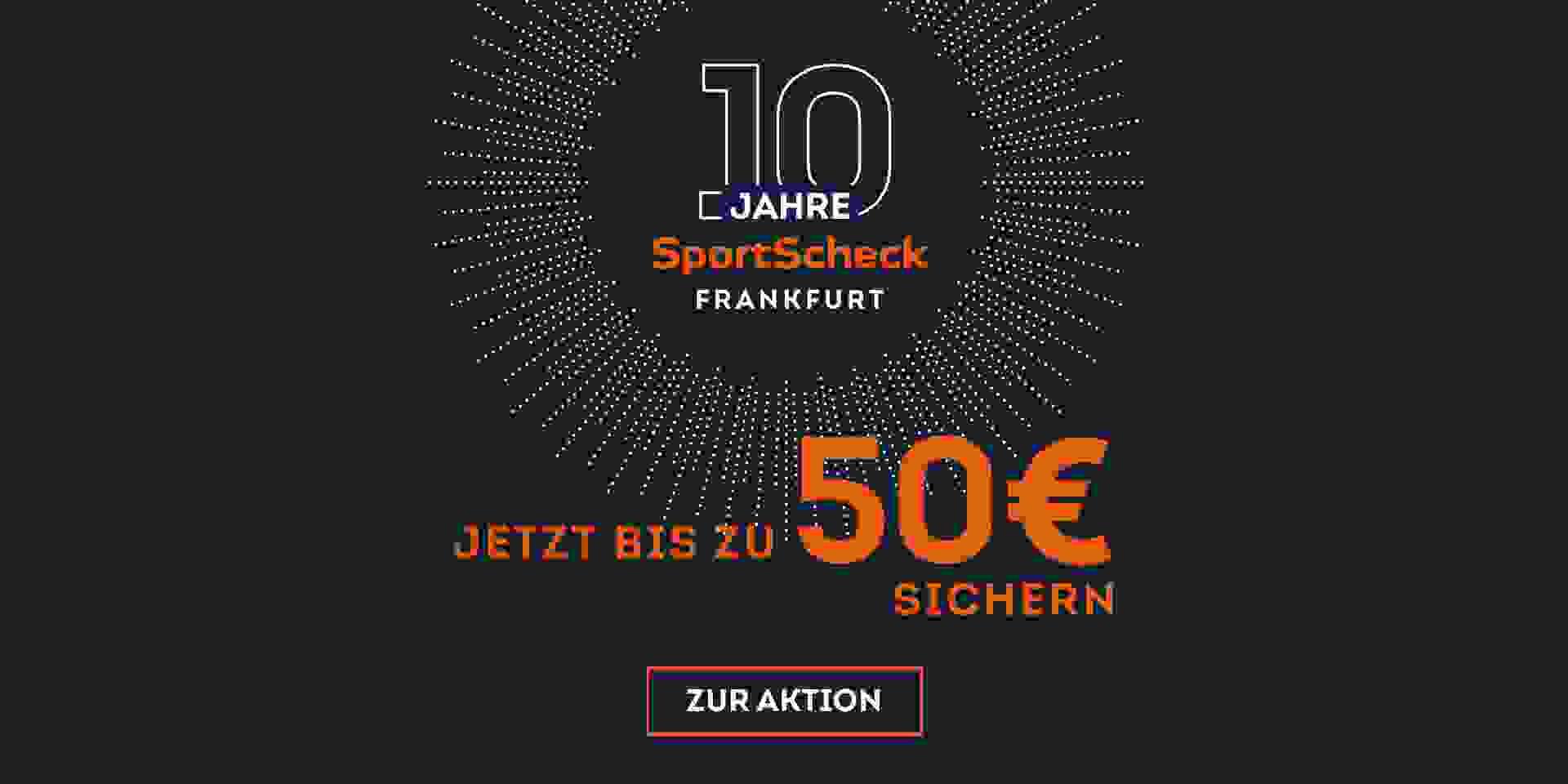 10 Jahre SportScheck Frankfurt