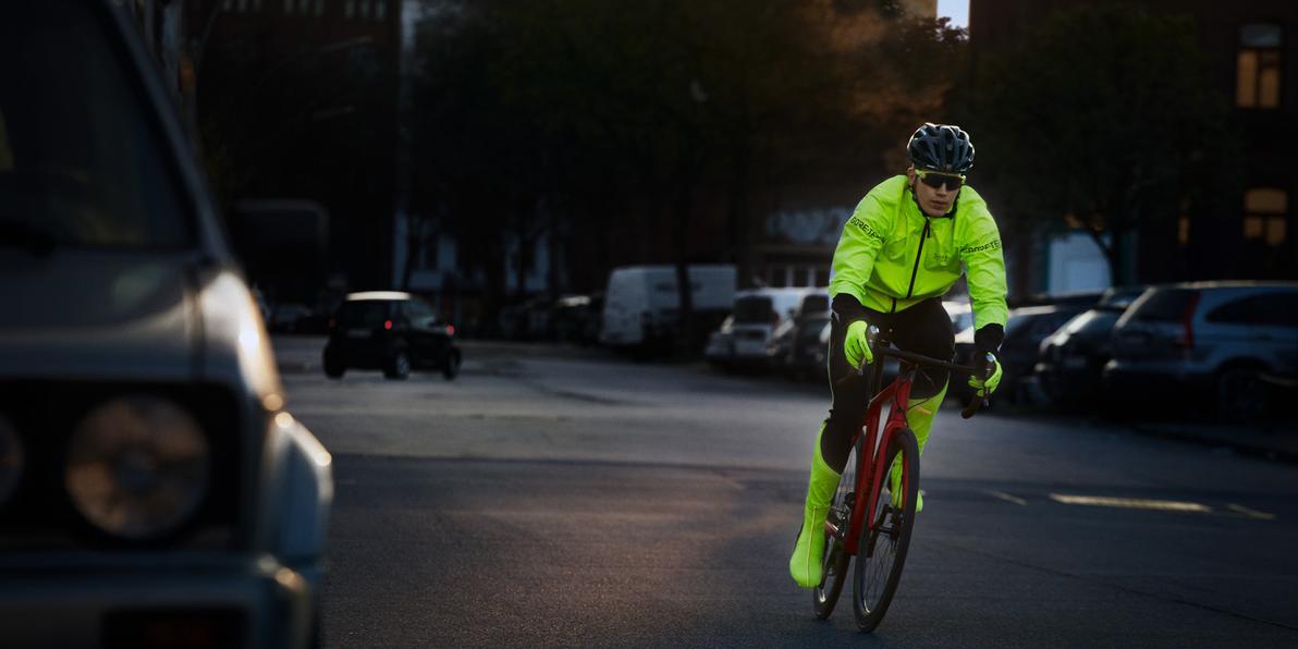 Radfahren im Dunkeln