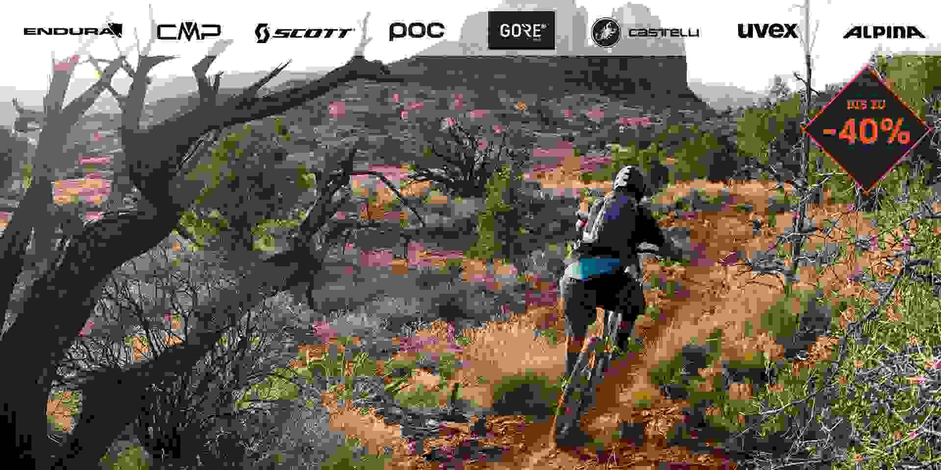 Radsportsortiment bei SportScheck