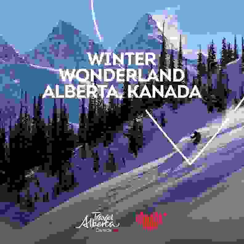 Skireise nach Alberta gewinnen