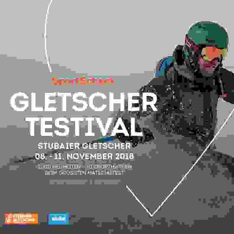 jetzt am Gletscher Testival teilnehmen