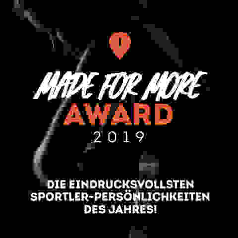 Made for More Award