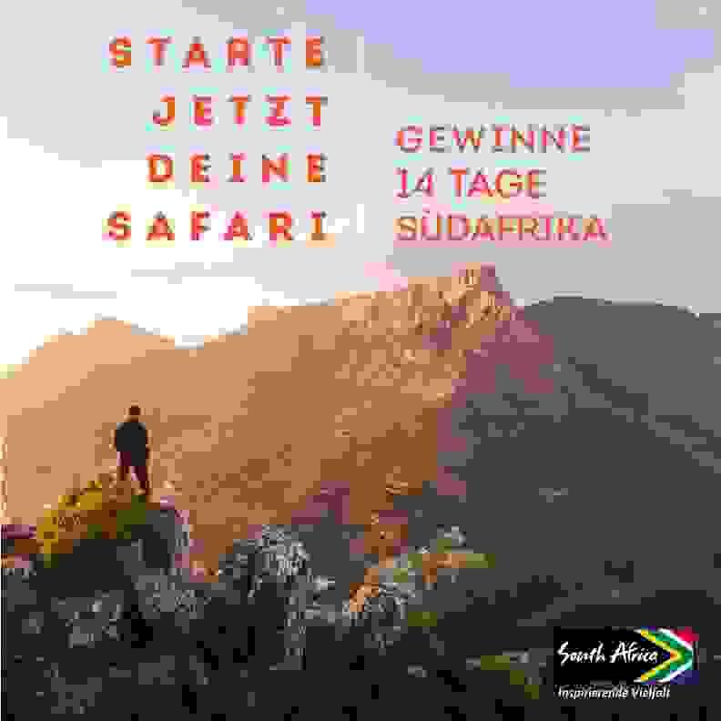 Gewinne 14 Tage Suedafrika