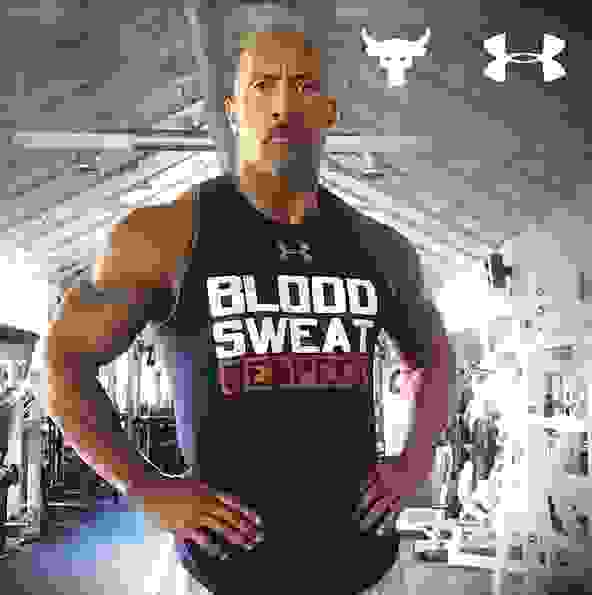 Under Armour - The Rock - Textteaser2 – Bild