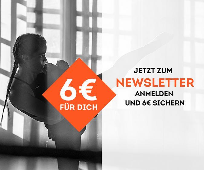 Jetzt zum Newsletter anmelden und 6€ sparen
