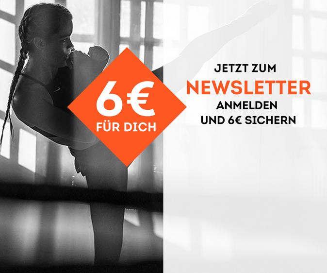 Jetzt zum Newsletter anmelden und 6€ sparen