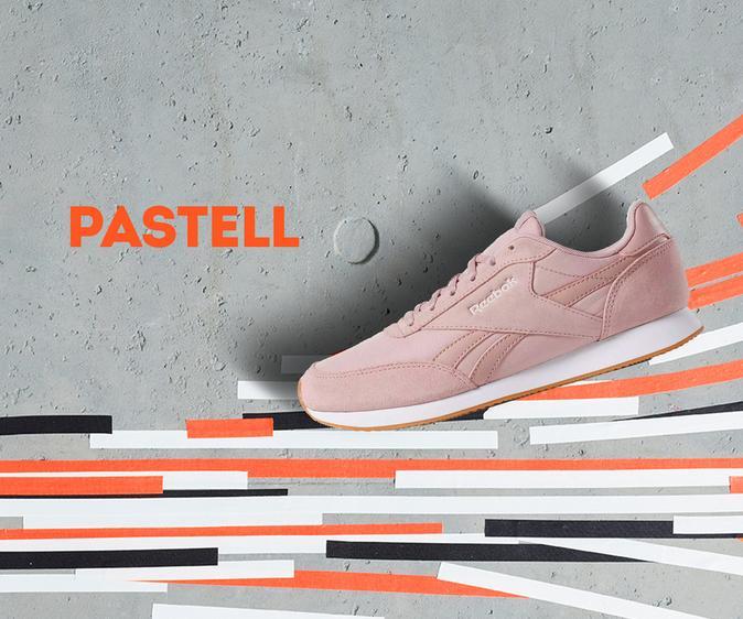 Pastellfarbene Sneaker