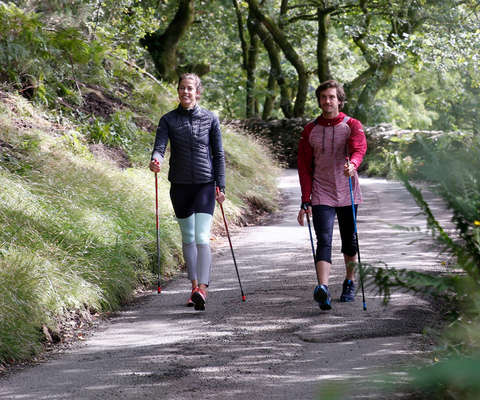 Zum Nordic Walking Sortiment