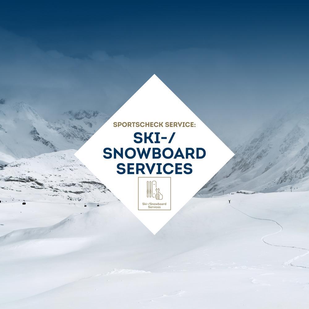 Ski- und Snowboardservice SportScheck