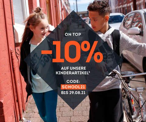 10% auf unsere Kinderartikel
