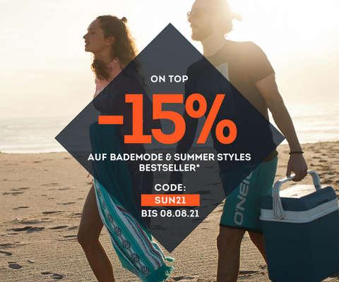 -15% on top auf Bademode & Summerstyles Bestseller