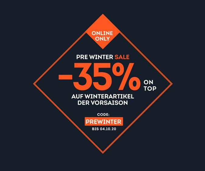 Prewinter-Sale