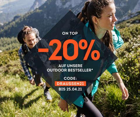 -20% on top auf Outdoor Bestseller