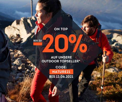 bis zu -20 % on top auf Outdoor Topseller