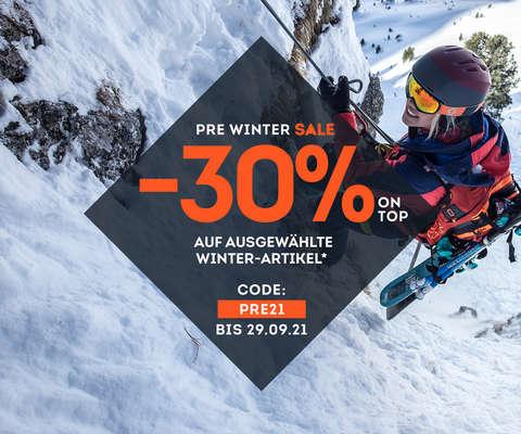 -30% on top auf ausgewählte Winterartikel*