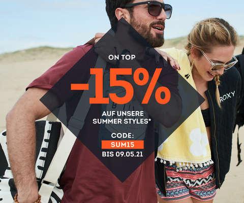 -15% on top auf unsere Summer Styles