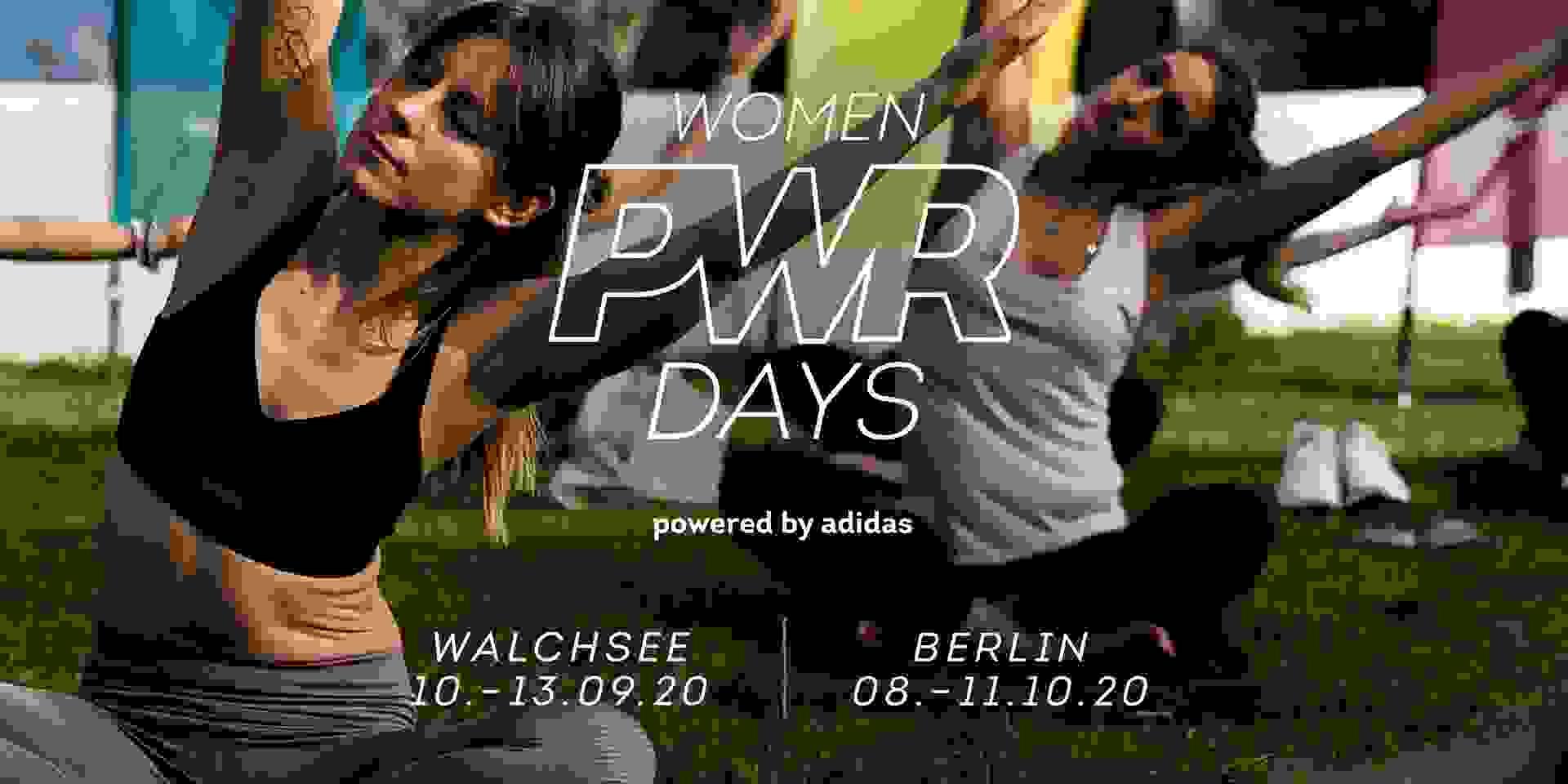 Erfahre mehr über die Women PWR Days