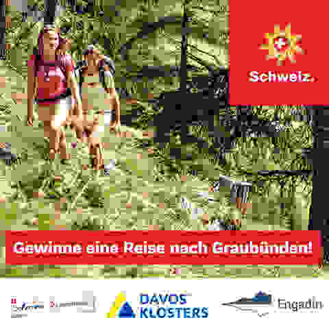 Gewinne eine Reise in die Schweiz