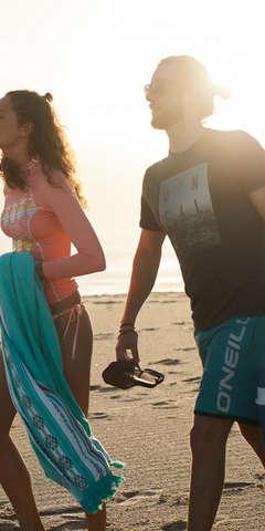 Beachwear für den Strandtag