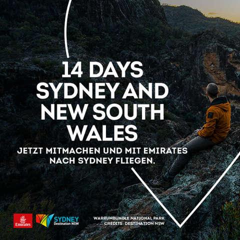 Gewinne 14 Tage Sydney