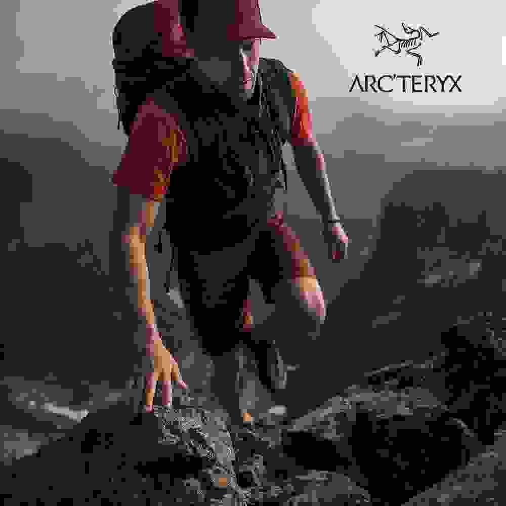 Zum Arcteryx Sortiment