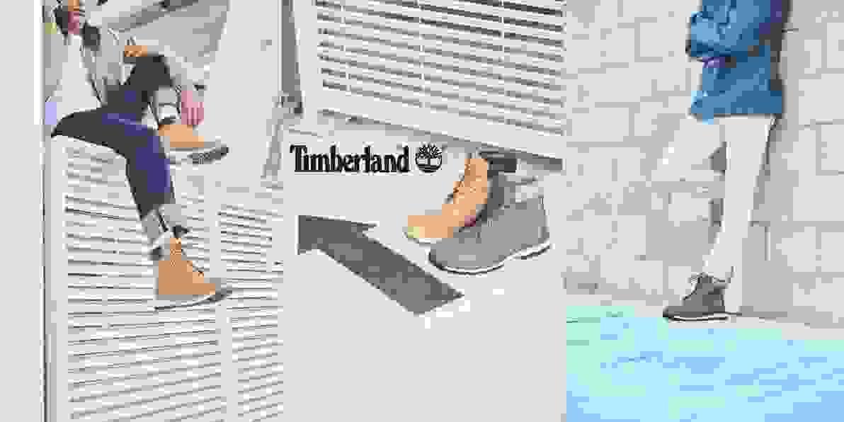 Zum Timberland Sortiment