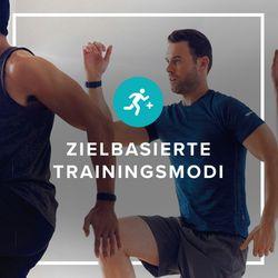 Funktion Verschiedene Trainingsmodi