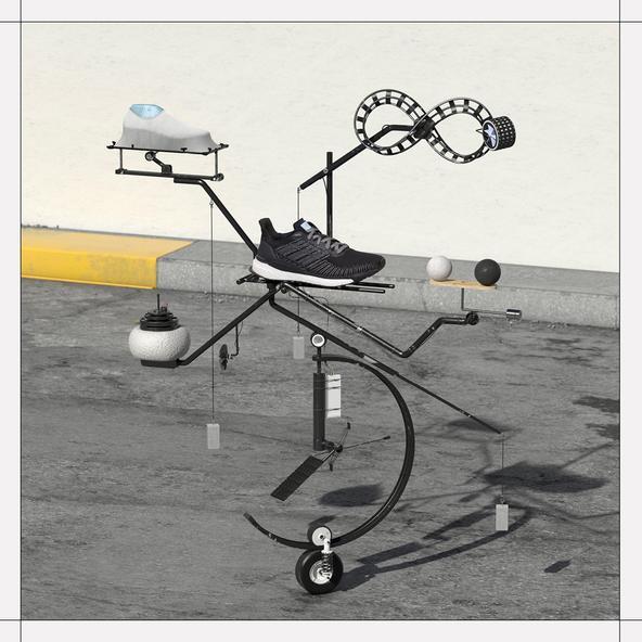 adidas Solarboost 19 Laufschuhe Herren grey six core black signal coral im Online Shop von SportScheck kaufen