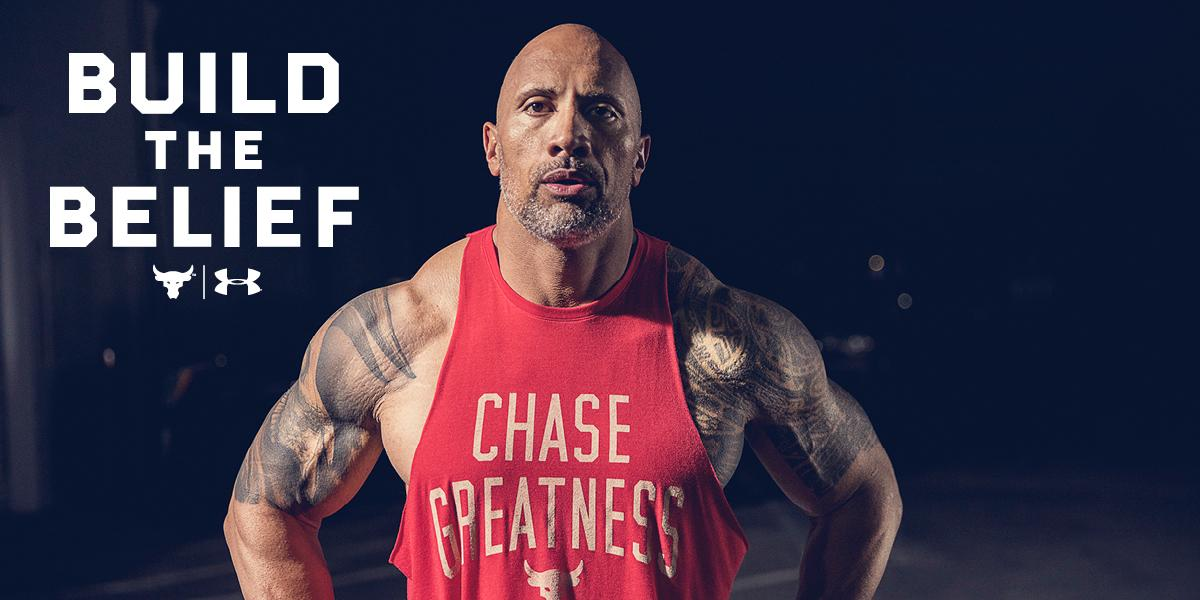Under Armour - The Rock - Mainteaser - Bild