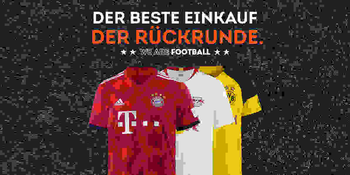 We are Football Bundesligastart