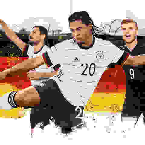 Adidas DFB EM-Trikots sichern