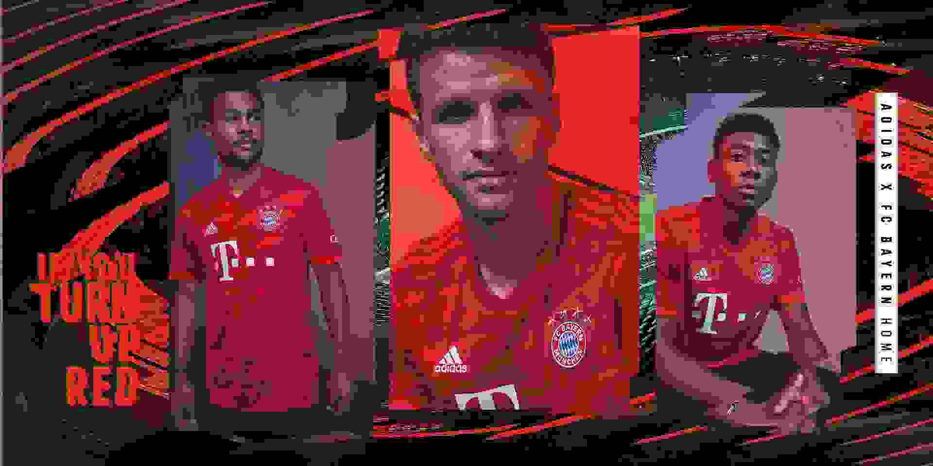 adidas FC Bayern Heim Trikot 2019/20