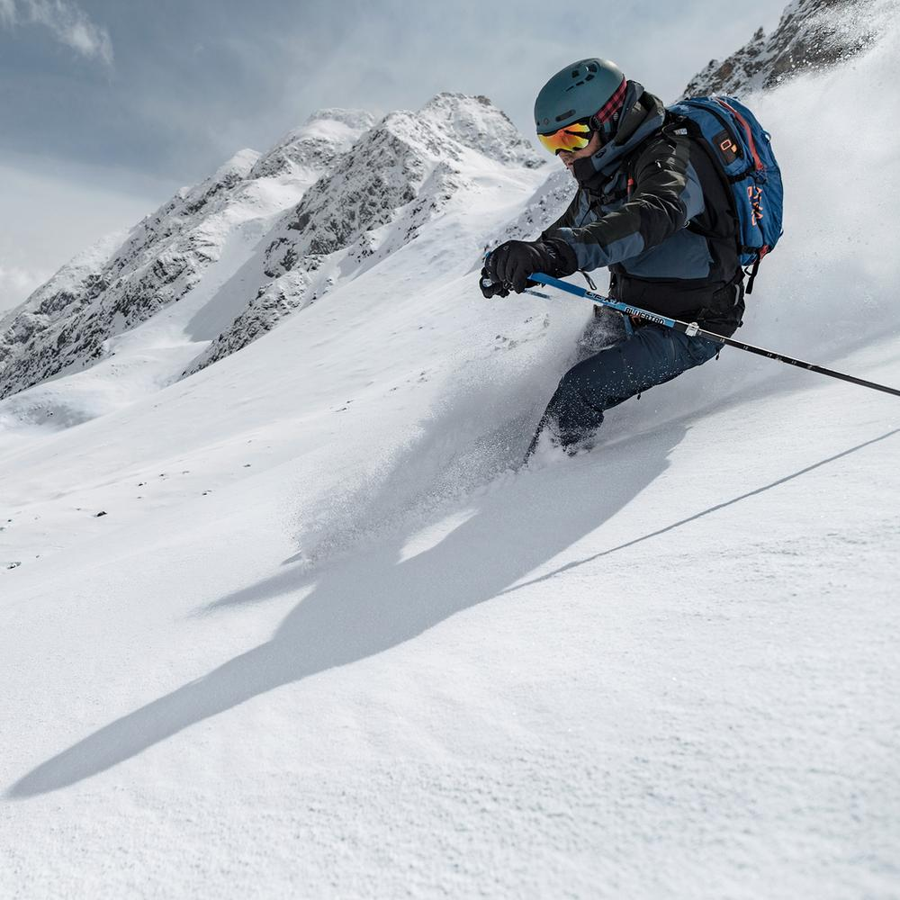 Winterkampagne Ski