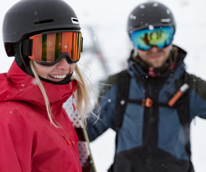 Skihelmberatung von SportScheck