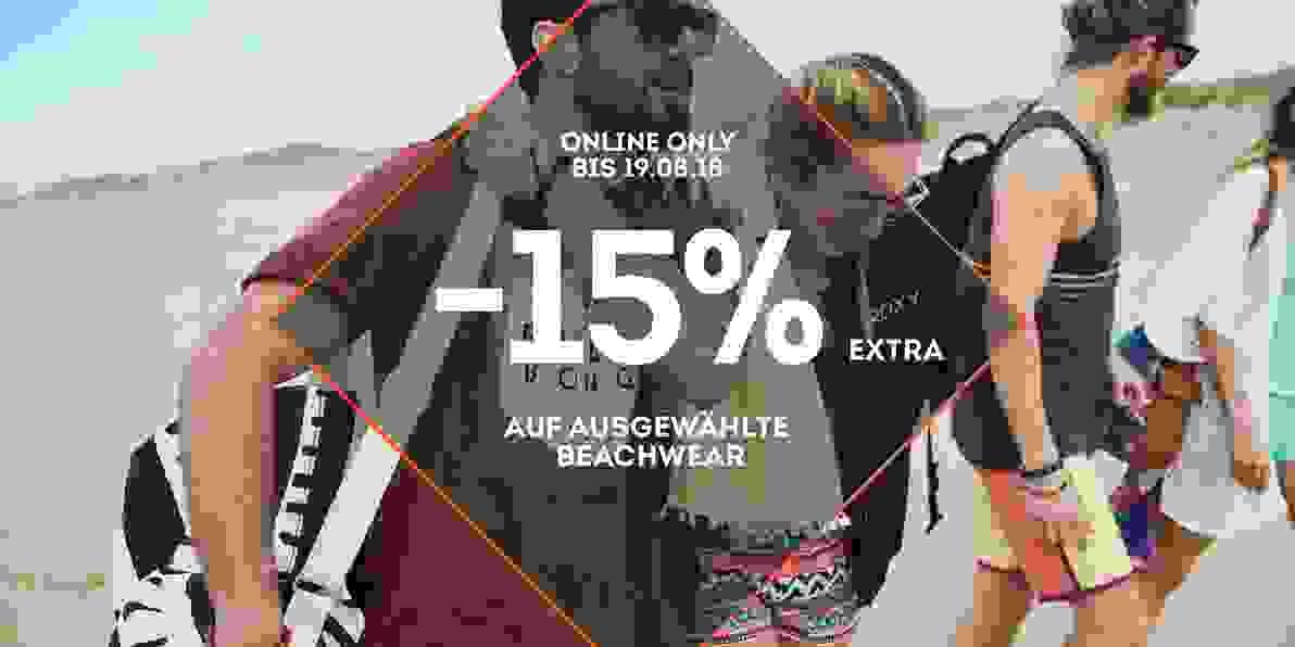 -15 Prozent Aktion