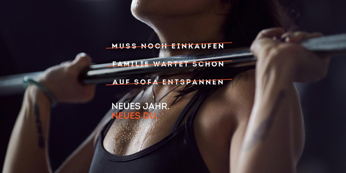 Fitnesskampagne Damen