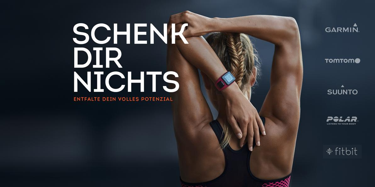Fitness Kampagne Wearables