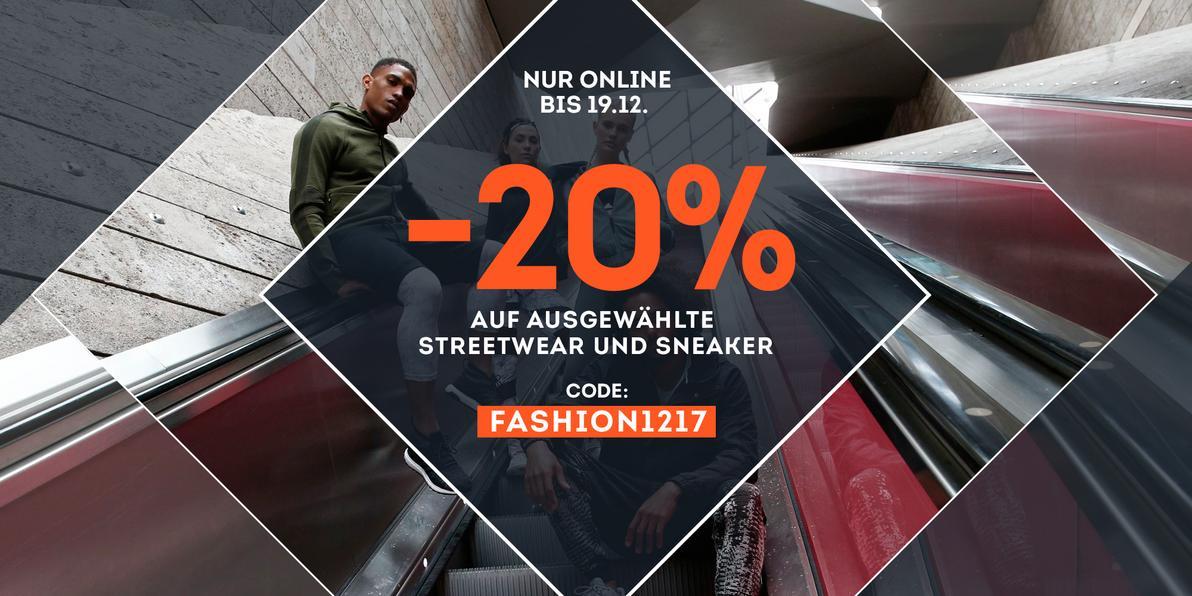 20% auf Fashionstyles