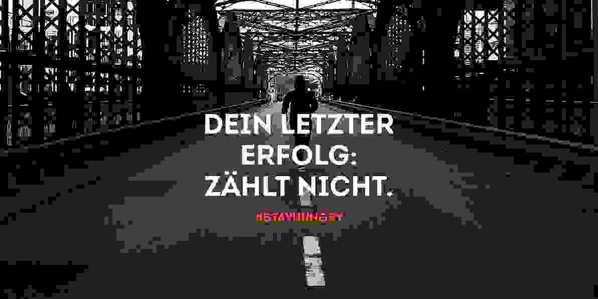 Running Kampagne Stay Hungry