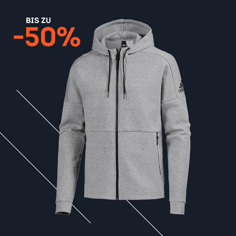 bis zu 50% auf Jacken
