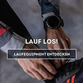 Entdecke unser Laufequipment