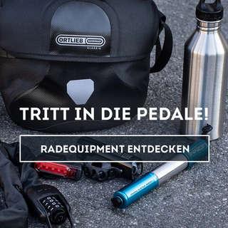 Entdecke unser Radequipment