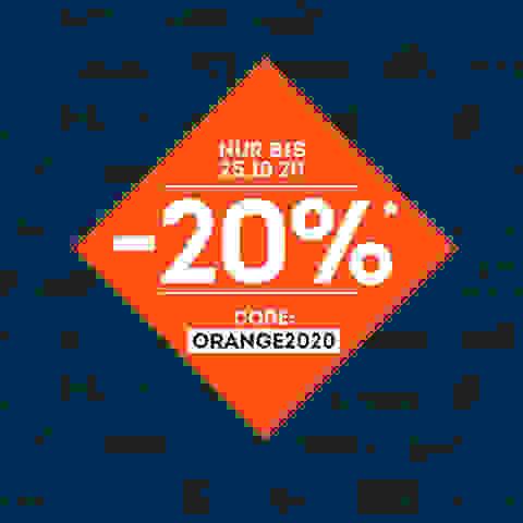 Orange Days bei SportScheck