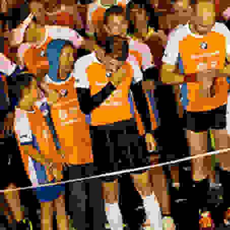 Die Läufer kurz vor dem Start zum Stuttgarter Stadtlauf.