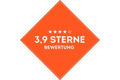 SportScheck Filiale Hamburg hat eine durchschnittlich eine 3.9 Sterne Bewertung