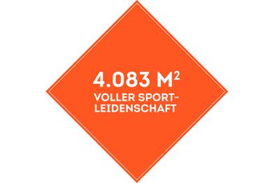 SportScheck Filiale Hamburg hat eine 4083m2 große Verkaufsfläche