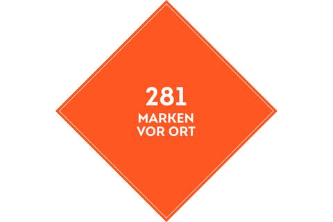 SportScheck Filiale München bietet über 281 Marken vor Ort