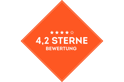 SportScheck Filiale München hat eine durchschnittlich eine 4.2 Sterne Bewertung