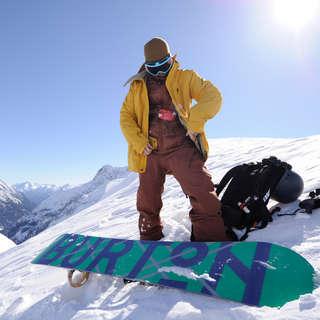 Snowboardpflege